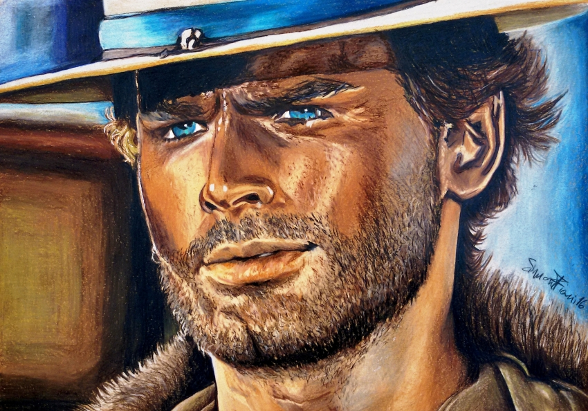 Terence Hill by simoflame
